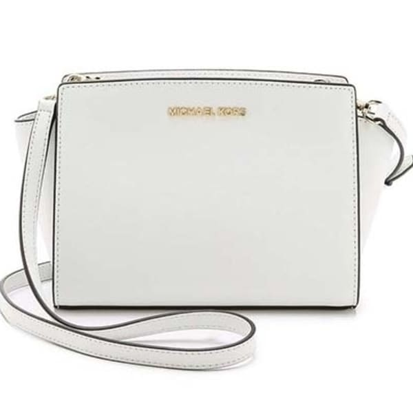 cc1c0a29e616 Shop Michael Kors Selma Medium Messenger Saffiano Leather - Free ...