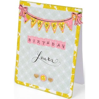 Sizzix Clear Stamps By Rachael Bright-Banners & Alphabet