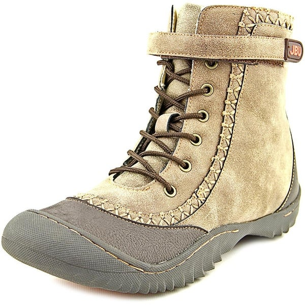 JBU by Jambu Sami Women  Round Toe Canvas Brown Winter Boot