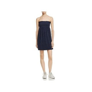 Juicy Couture Womens Sundress Microterry Strapless
