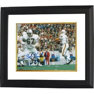 Shop Bob Kuechenberg Signed Miami Dolphins 8x10 Photo Custom Framed