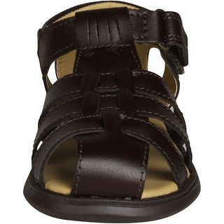 Scott David Boys Sailor Cabana Sandals