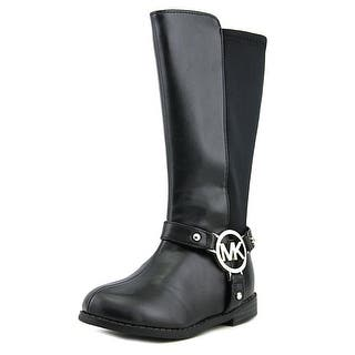 Michael Michael Kors Emma Kaya Youth Round Toe Synthetic Black Mid Calf Boot|https://ak1.ostkcdn.com/images/products/is/images/direct/268b4d3e0a53d26b34f8f4a95de999bdee8fd26d/Michael-Michael-Kors-Emma-Kaya-Round-Toe-Synthetic-Mid-Calf-Boot.jpg?impolicy=medium