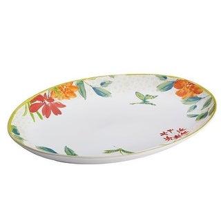 BonJour Dinnerware Al Fresco Stoneware 9.75 X 13 in. Oval Platter