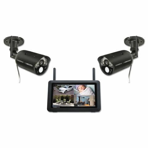 Uniden UDR744HD & UDRC34HD Weatherproof Wireless Camera System w/ 2-Way Audio