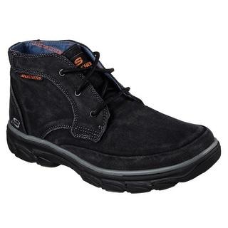 Skechers 64802 BLK Men's RESMENT-TAVOS Boot