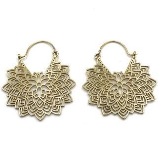 Handmade Petals Filigree Earrings for Women