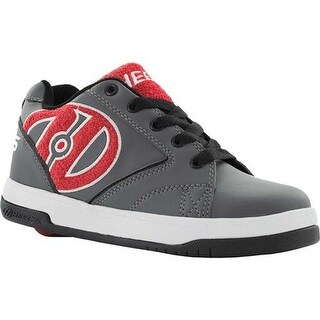 Heelys Children's Propel 2.0 Grey/Red Terry/Logo