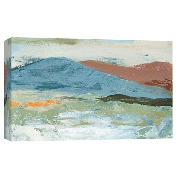 """PTM Images 9-101921 PTM Canvas Collection 8"""" x 10"""" - """"Landscape Study 19"""" Giclee Mountains Art Print on Canvas"""
