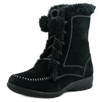 Sporto Womens Maggie Closed Toe Mid-Calf Cold Weather Boots