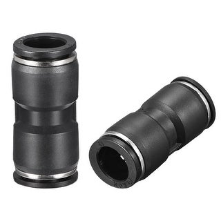 """Push to Connect Fittings 12mm or 15/32"""" Straight od Tube Fittings 5pcs - 5pcs 15/32"""""""