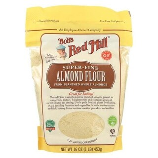 Bobs Red Mill 2164002 16 oz Almond Blanched Flour - Case of 4