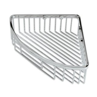 Gatco 1570 12 Inch Corner Shower Basket