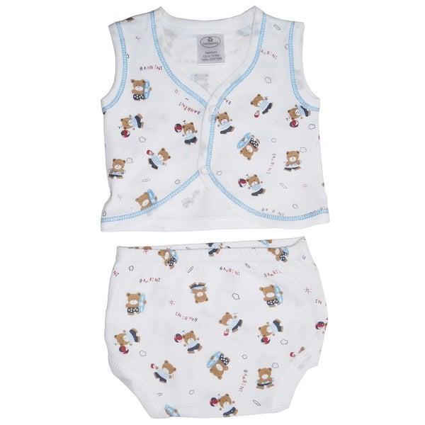 Bambini Diaper Shirt & Panty - Size - Small - Boy