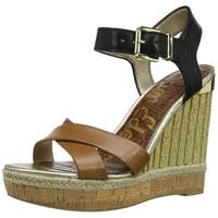 Sam Edelman Womens Clay Leather Open Toe Casual