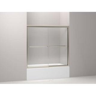 """Kohler K-702202-L Frameless Bypass Bath Door - 57"""" W x 55-3/4"""""""