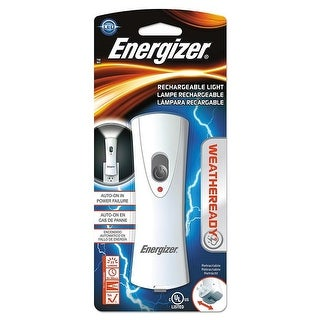 Energizer RCL1NM2WR Rechargeable LED Flashlight, White