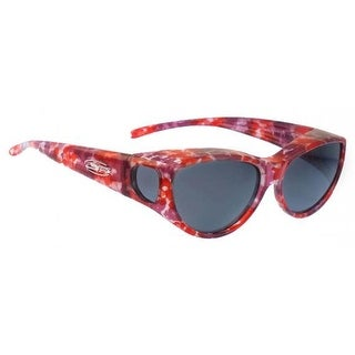 Jonathan Paul Fitovers Medium Ikara Berry Crush Polarized Grey Sunglasses