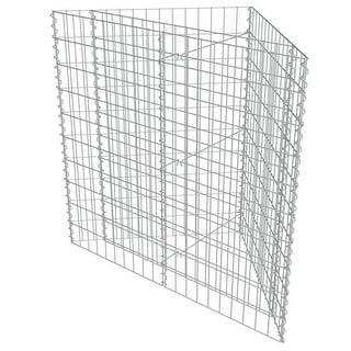 vidaXL Gabion Planter Outdoor Stone Corner Cages Basket