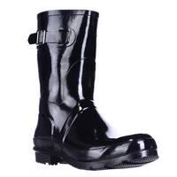 Aerosoles Rain Date Mid Calf Rain Boots, Black