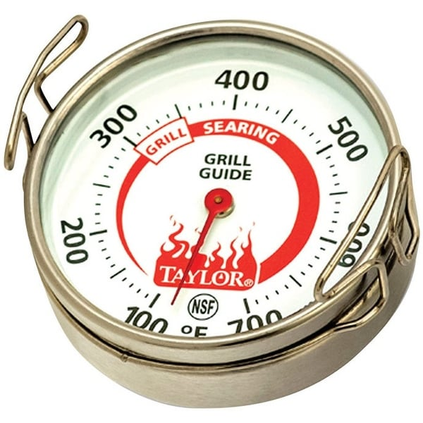 """Taylor 805N Weekend Warrior Grill Surface Thermometer, 2"""""""