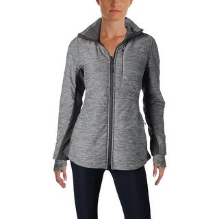 The North Face Womens Athletic Jacket Heathered Insulated