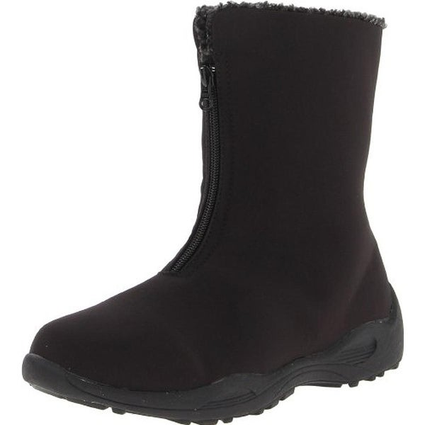 Propet Womens Madison Snow Boots Faux Fur Waterproof