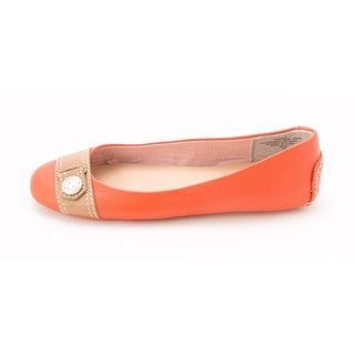 Tommy Hilfiger Womens MINAY Leather Closed Toe Toe Strap