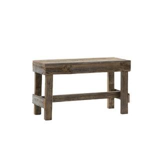 Link to Del Hutson Designs Handmade Barnwood Bench Similar Items in Living Room Furniture