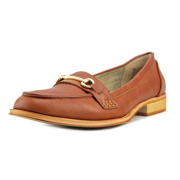 Wanted Citi Time Women Round Toe Leather Brown Loafer