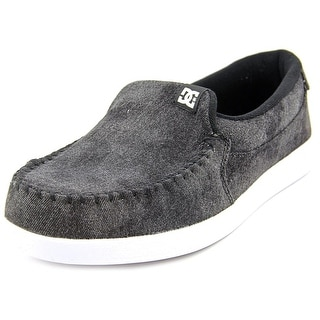 DC Shoes Villain TX Moc Toe Canvas Loafer
