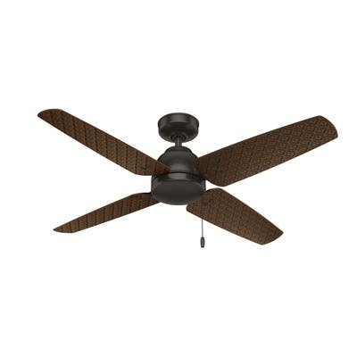 """Hunter 52"""" Sunnyvale Outdoor Ceiling Fan with Pull Chain"""
