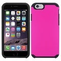 Insten Dual Layer Hybrid Rubberized Hard PC/ Silicone Case Cover for Apple iPhone 5/ 5S/ SE - Thumbnail 2