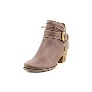 Softwalk Dublin Women Round Toe Leather Bootie