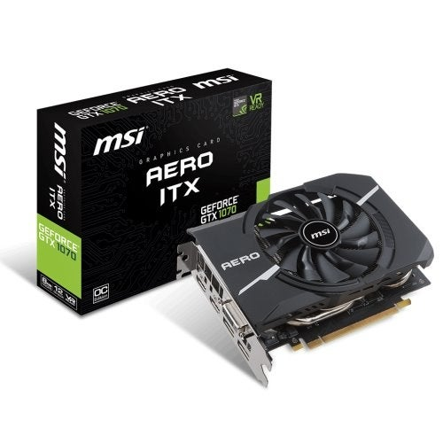 """MSI GeForce GTX 1070 AERO ITX 8GB Video Card 8GB Video Card"""