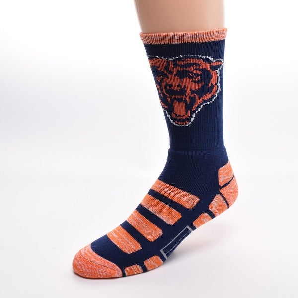 For Bare Feet Chicago Bears Patches Socks
