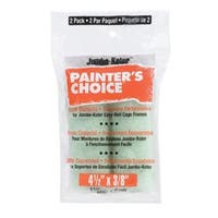 """Wooster RR307-4 1/2  Paint Roller Cover, 3/8"""", 2 Pack"""