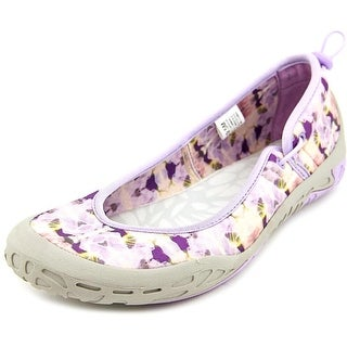 Jambu Hush Round Toe Canvas Flats
