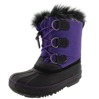 Western Chief Girls Arcterra Snow Boots Contrast Trim Water Resistant