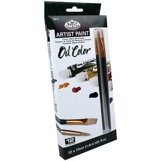 Royal Brush - Oil Artist Paint Set - 24-Color Set