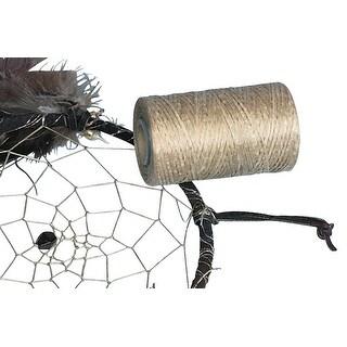 Silver Creek Leather Polyester Fiber Flat Imitation Sinew, 1000 ft, 8 oz Spool