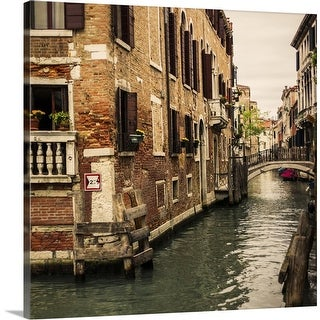 """Venice"" Canvas Wall Art"