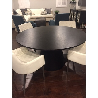 Abbyson Living Sienna Round Wood Dining Table 15561018