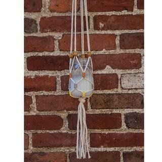 Modern Macrame Hanging Jar Kit-