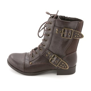 G by Guess Women's Baso Combat Boots