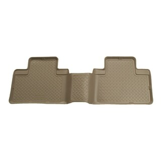 Husky Classic 1999-2007 Ford F-250/F-350 SD SuperCab 2nd Row Tan Rear Floor Mats/Liners