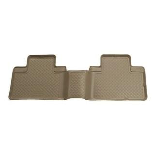 Husky Classic 2008-2014 Lincoln Navigator L 3rd Row Tan Rear Floor Mats/Liners