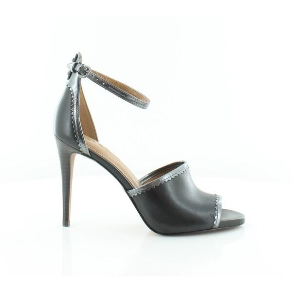 Coach Jordan Women's Heels Black/Gunmetal - 7.5