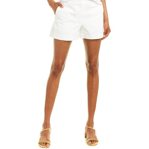 Theory Double Stretch Cotton Mini Short