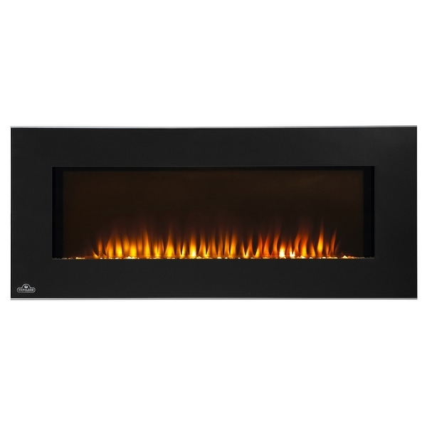 Napoleon EFL42H 42 Inch Linear Wall Mount Electric Fireplace - Black